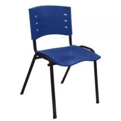Cadeira diálogo New Iso base preta e em cores