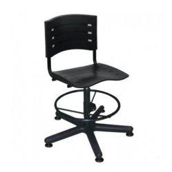 Cadeira caixa New Iso base preta