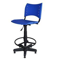 Cadeira caixa Iso em cores com base preta