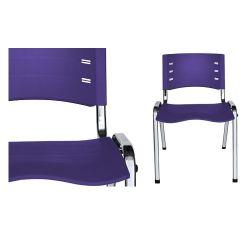 Cadeira diálogo New Iso cromada em cores