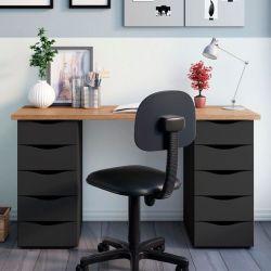 Escrivaninha  com gavetas Due