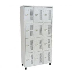Roupeiro guarda-volumes 12 portas 350