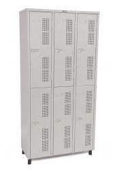 Guarda-volumes 6 portas 350
