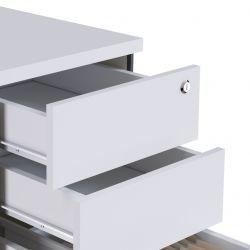 Gaveteiro Concept 2 gavetas e pasta suspensa