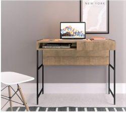 Escrivaninha com gaveta Steel Quadra