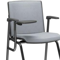 Cadeira de Treinamento com prancheta escamoteável Audiplax