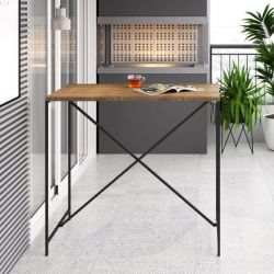 Mesa  bancada bistrô Steel Quadra