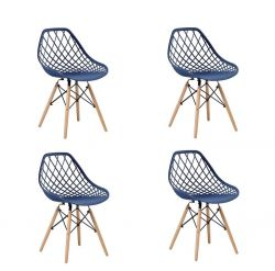 Kit com 4 cadeiras Veneza