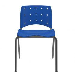 Cadeira Ergoplax Slim fixa Cores
